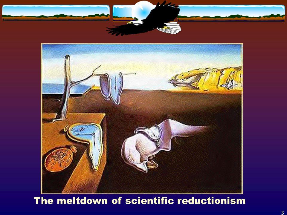 3 The meltdown of scientific reductionism
