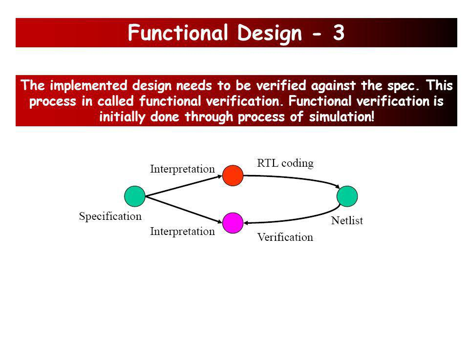 Example: Functional Design - 2