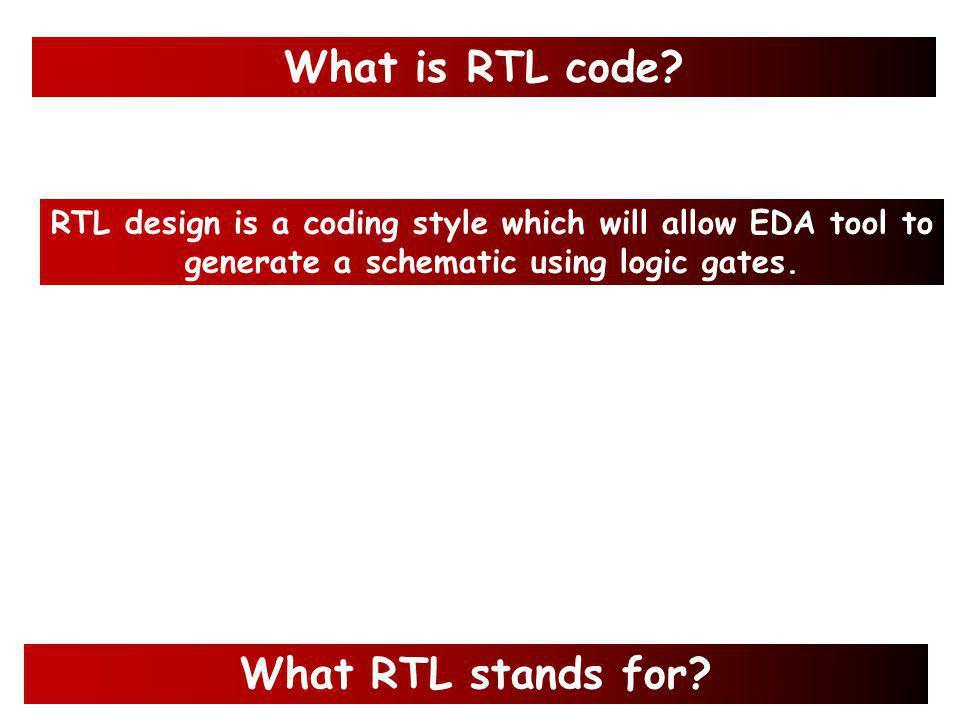STEP3: RTL coding