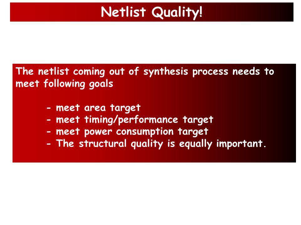 Example: Netlist