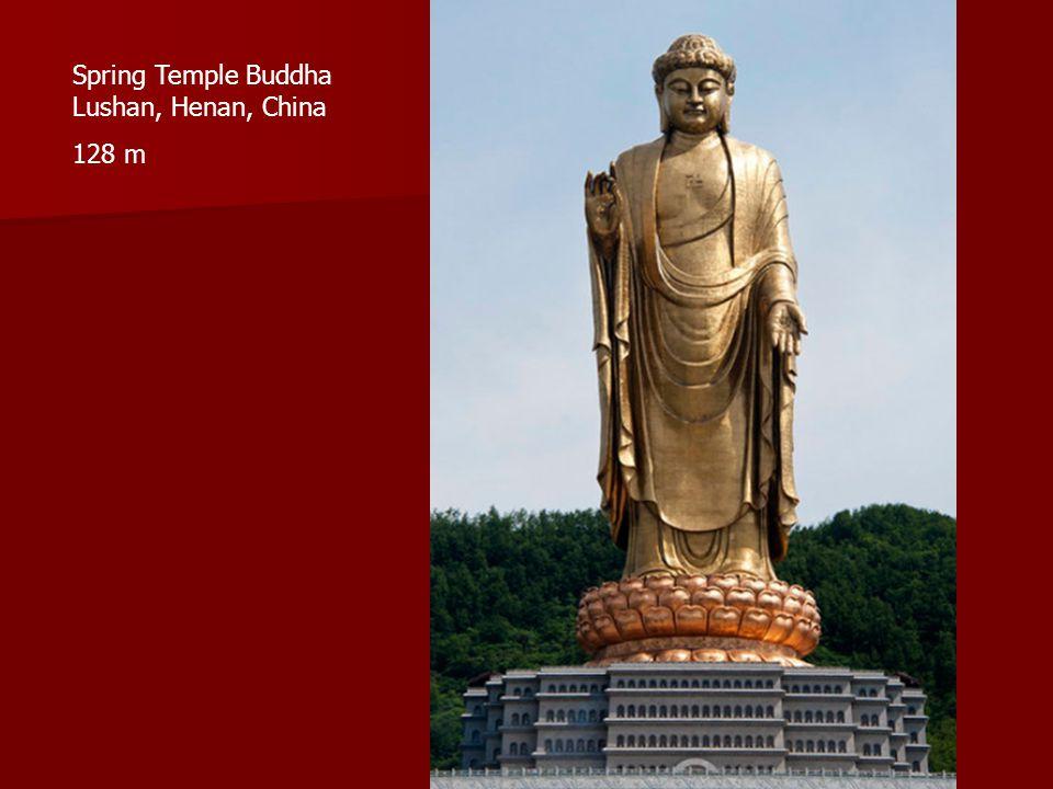 Spring Temple Buddha Lushan, Henan, China 128 m