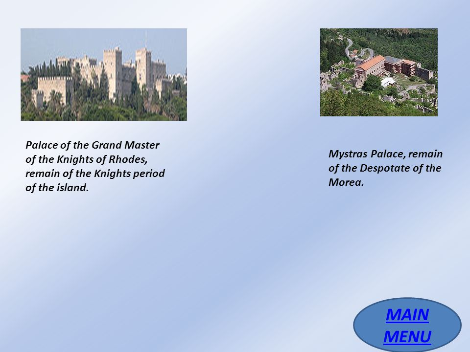 Medieval period (4th century–1453) MAIN MENU