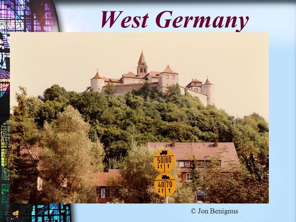 West Germany © Jon Benignus