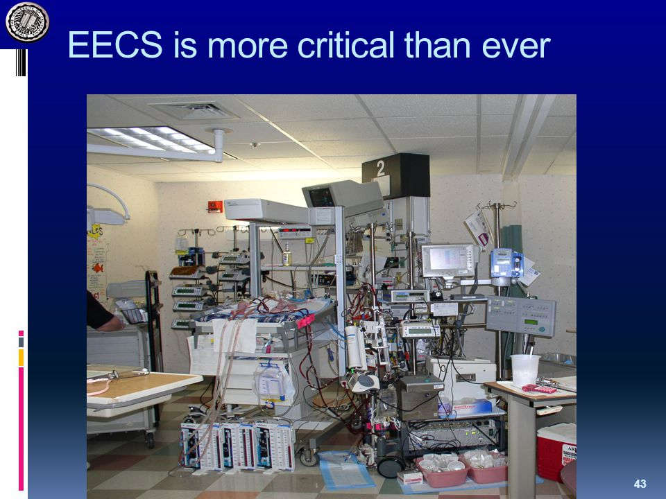 EECS is more critical than ever 43