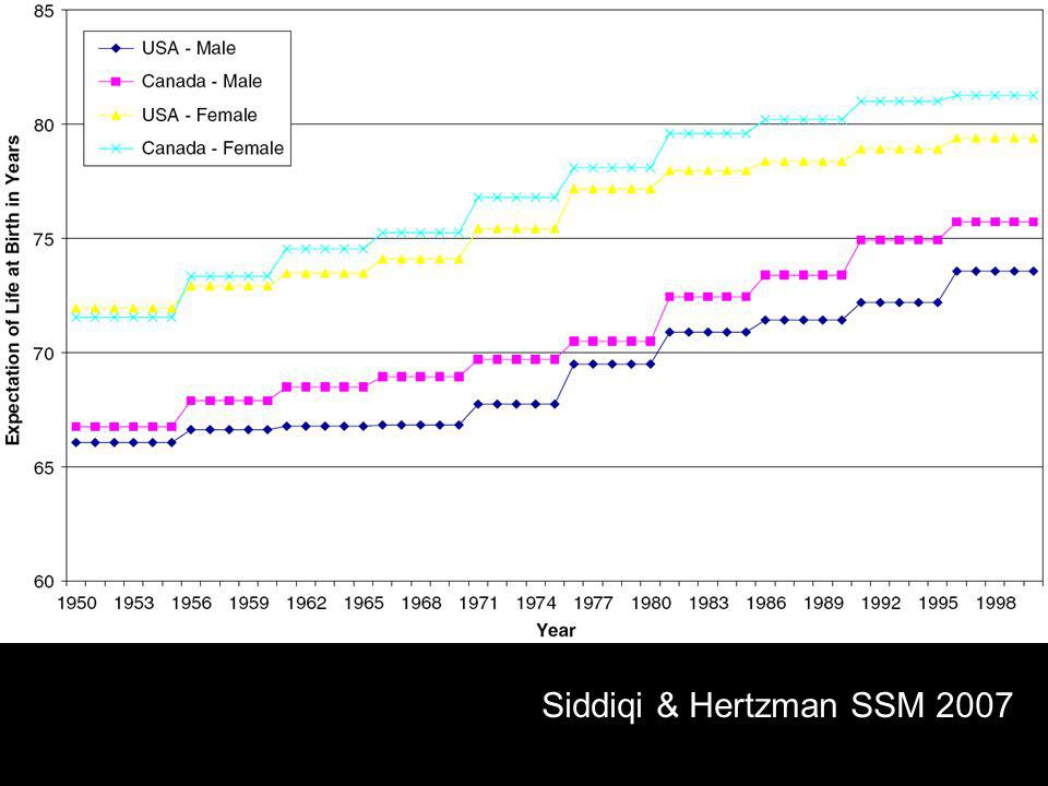 Siddiqi & Hertzman SSM 2007