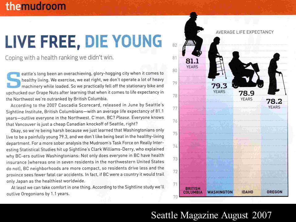 Seattle Magazine August 2007