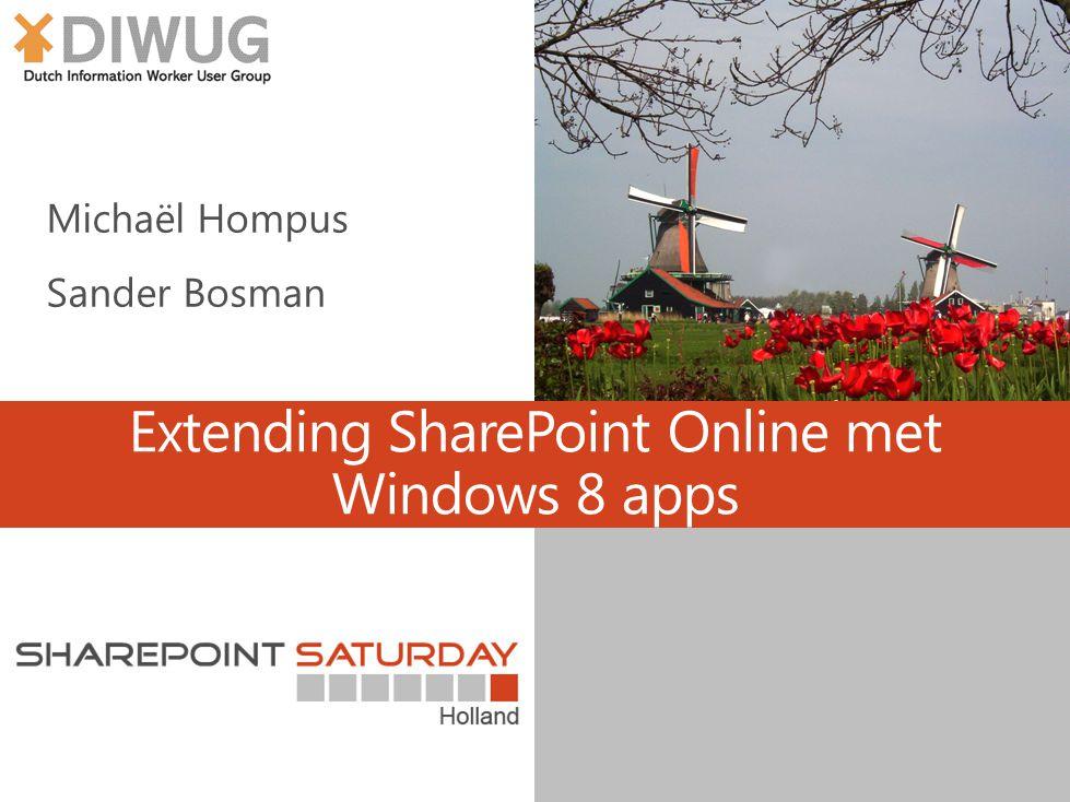 Extending SharePoint Online met Windows 8 apps