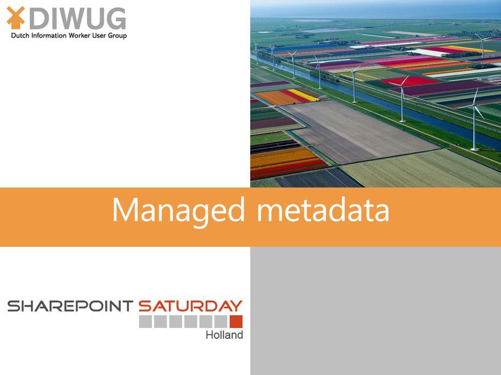 Managed metadata