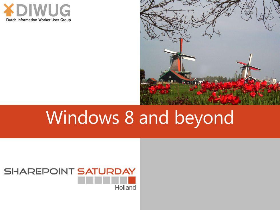Windows 8 and beyond