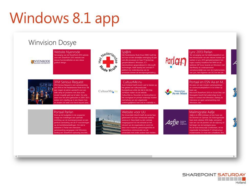 Windows 8.1 app