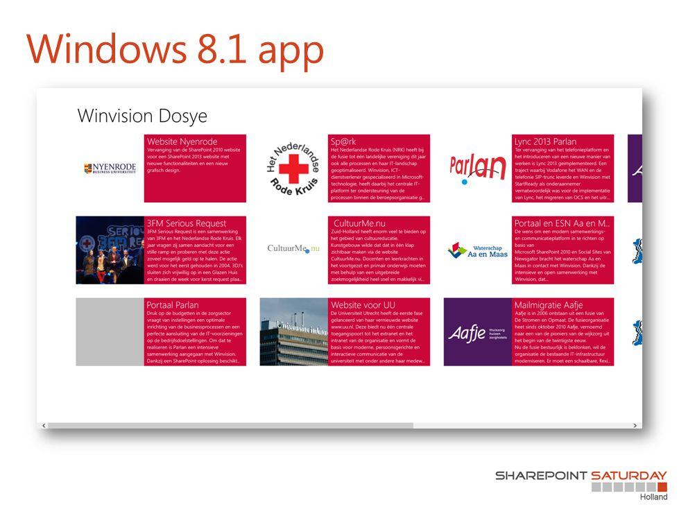 Windows 8.1 app