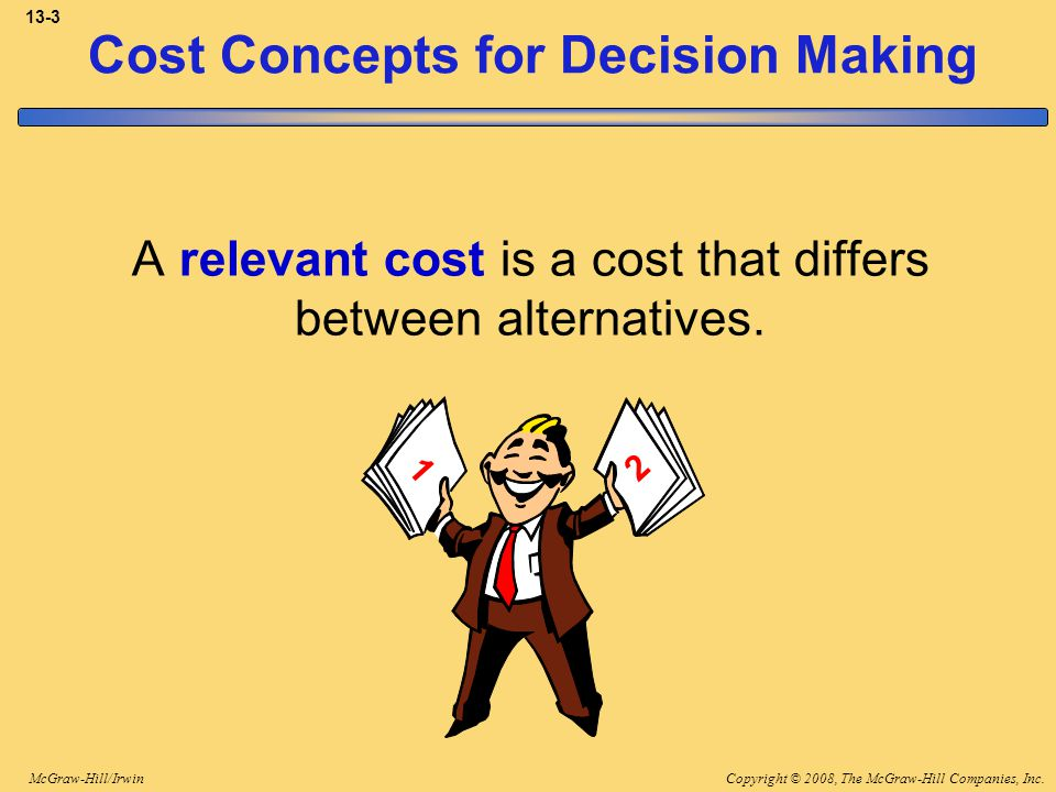 Copyright © 2008, The McGraw-Hill Companies, Inc.McGraw-Hill/Irwin 13-24 A Contribution Margin Approach Retain