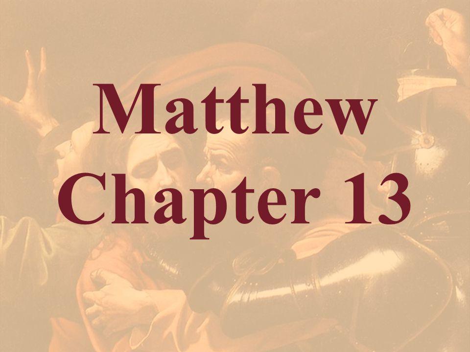 Matthew Chapter 13