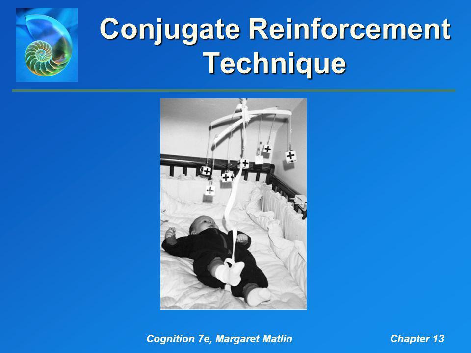 Cognition 7e, Margaret MatlinChapter 13 Conjugate Reinforcement Technique