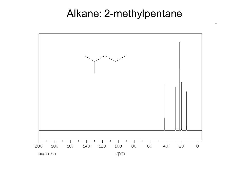 Alkane: 2-methylpentane