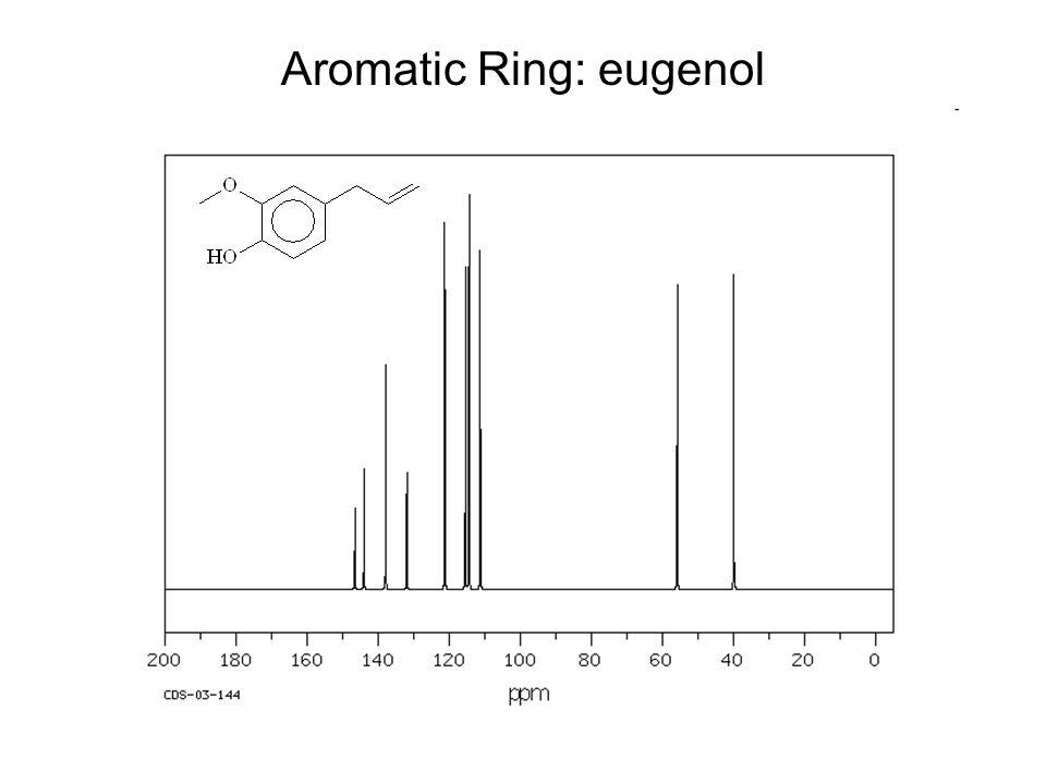 Aromatic Ring: eugenol