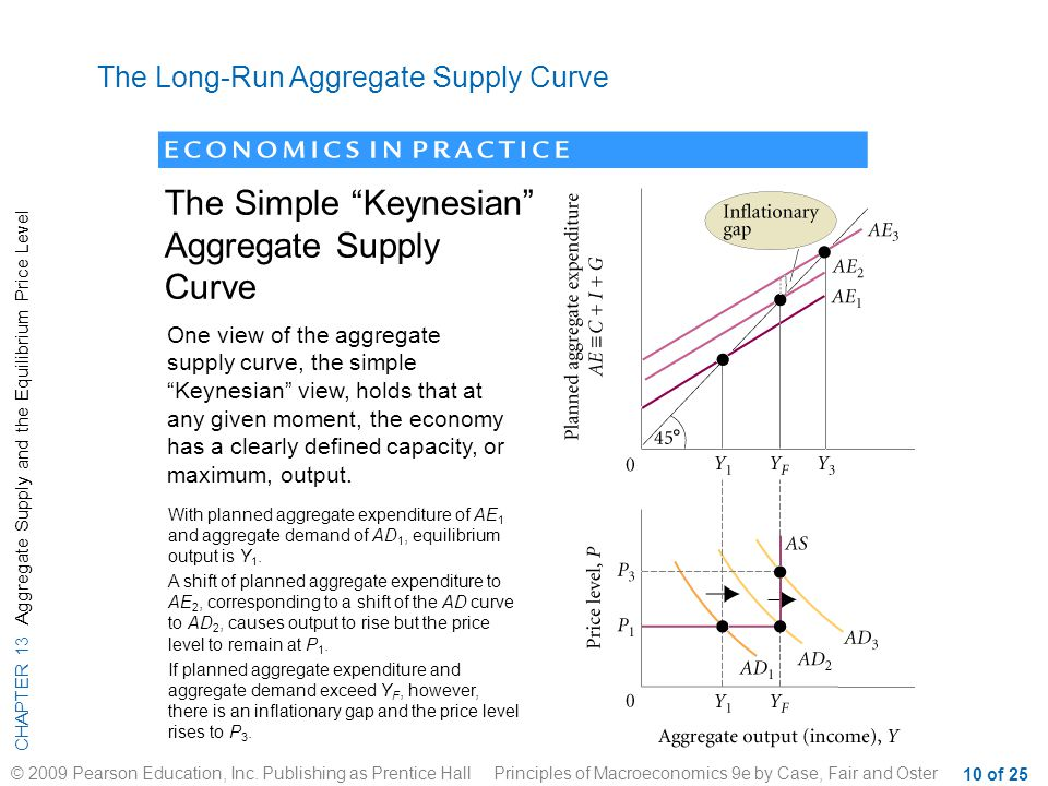 CHAPTER 13 Aggregate Supply and the Equilibrium Price Level © 2009 Pearson Education, Inc.