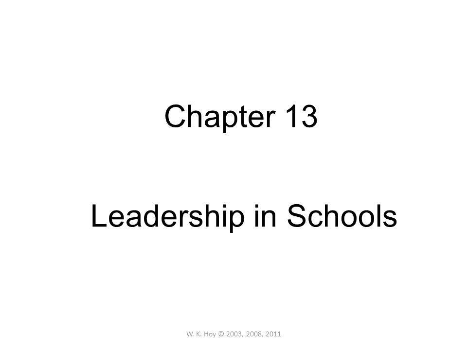 Leadership Defined Bennis (1989): like beauty, (or pornography), leadership is hard to define, but you know it when you see it Chemers (1997:1): …a process of social influence in which one person is able to enlist the aid and support of others in the accomplishment of a common task Most definitions agree that leadership involves a social influence process; beyond that, scholars dispute the meaning of leadership.
