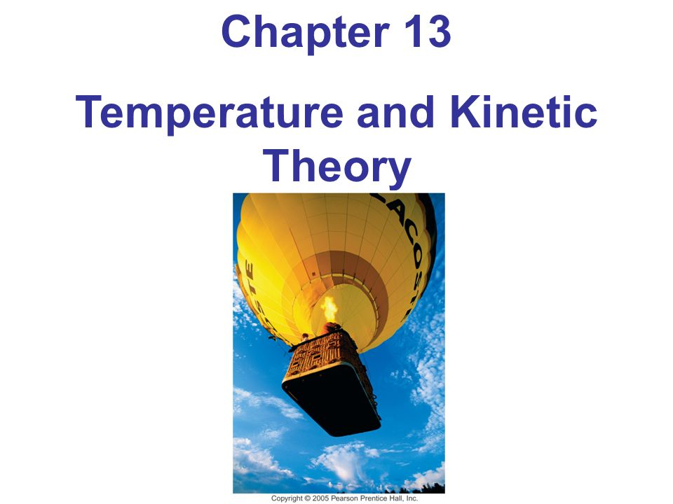 Units of Chapter 13 Atomic Theory of Matter Temperature and Thermometers Thermal Equilibrium and the Zeroth Law of Thermodynamics Thermal Expansion Thermal Stress The Gas Laws and Absolute Temperature The Ideal Gas Law