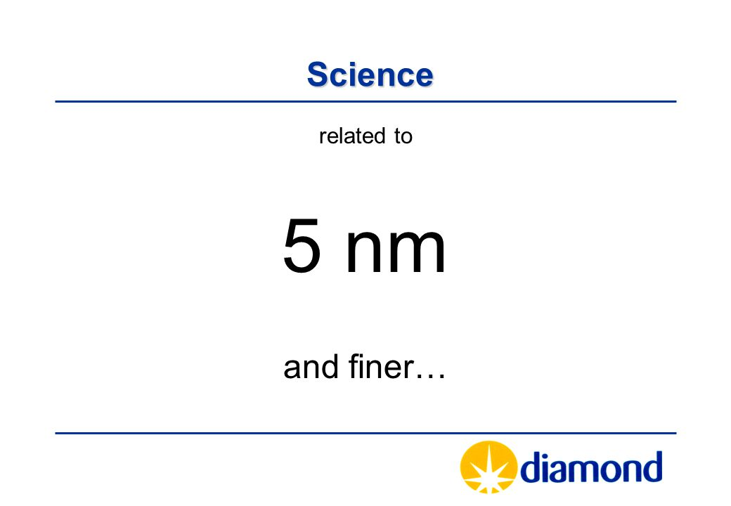 Science Science related to 5 nm and finer…