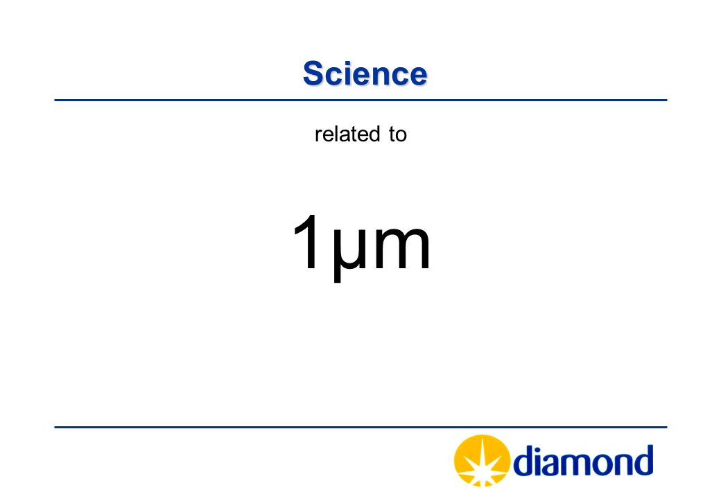 Science Science related to 1µm