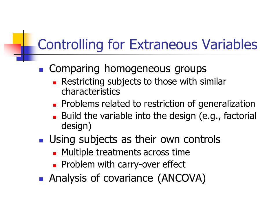 Matching Process Based on Gender Experimental Group Control Group John Jim James Josh Jackson Jane Johanna Julie Jean Jeb