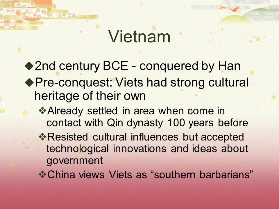 Vietnam in the Post-Classical Period