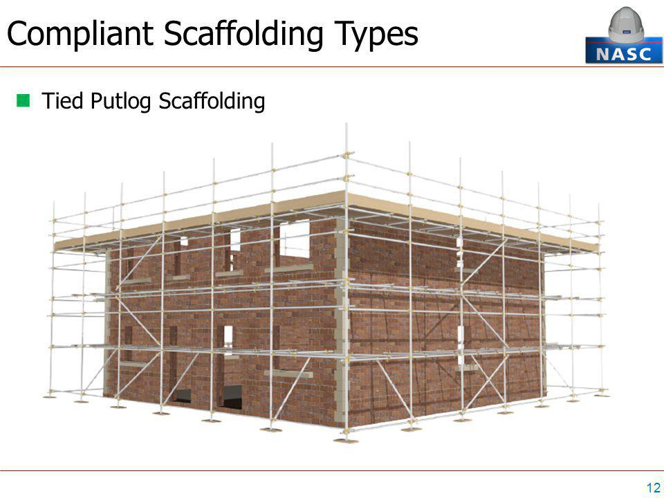 12 Tied Putlog Scaffolding Compliant Scaffolding Types