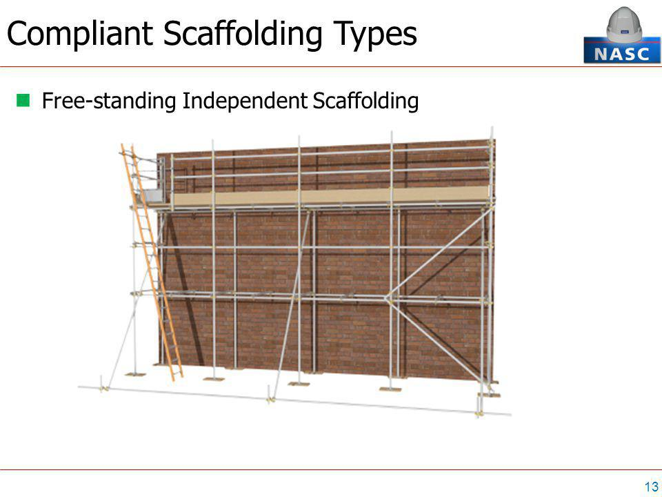 13 Free-standing Independent Scaffolding Compliant Scaffolding Types