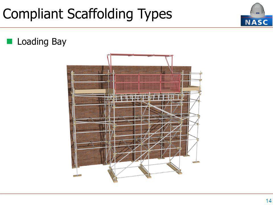 14 Loading Bay Compliant Scaffolding Types