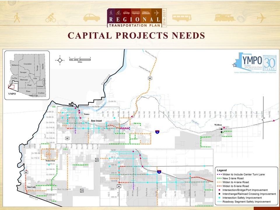 9 CAPITAL PROJECTS NEEDS