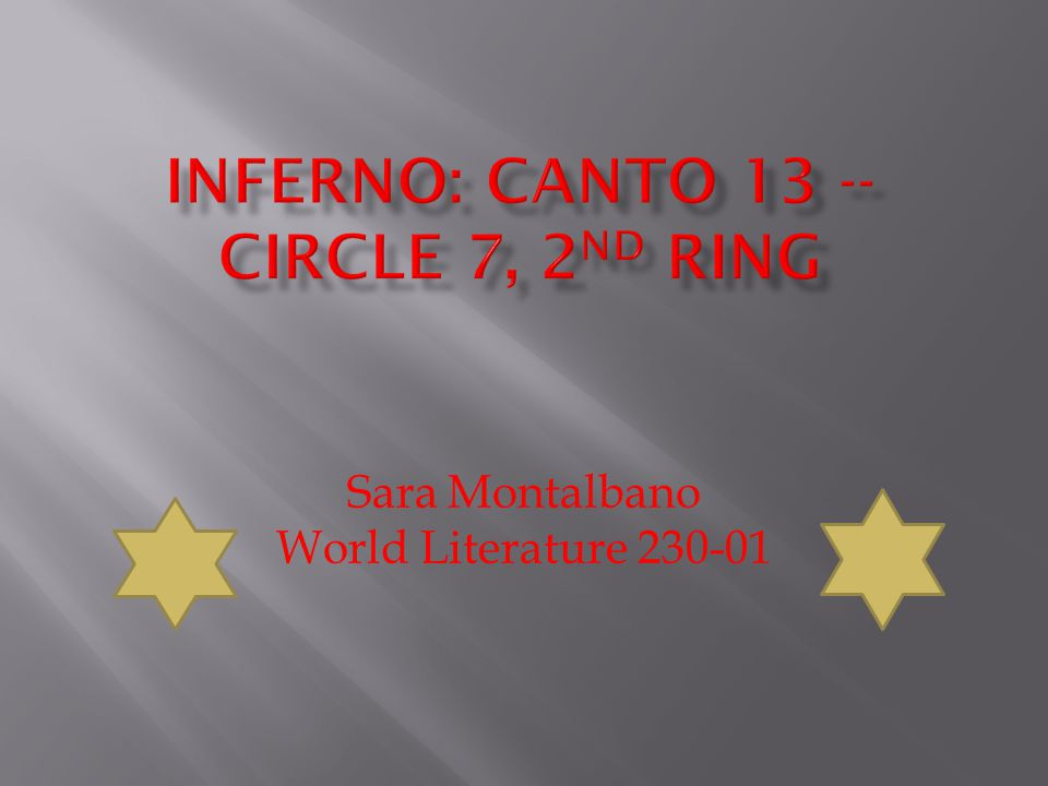 Sara Montalbano World Literature 230-01