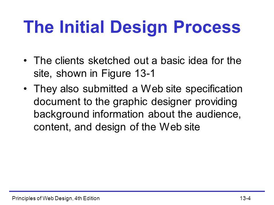 Principles of Web Design, 4th Edition13-5