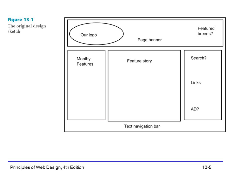 Principles of Web Design, 4th Edition13-6