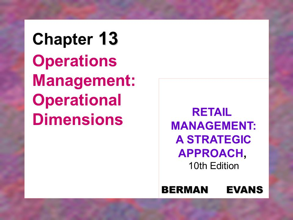 13-12 Figure 13-5: Inventory Management at Costco