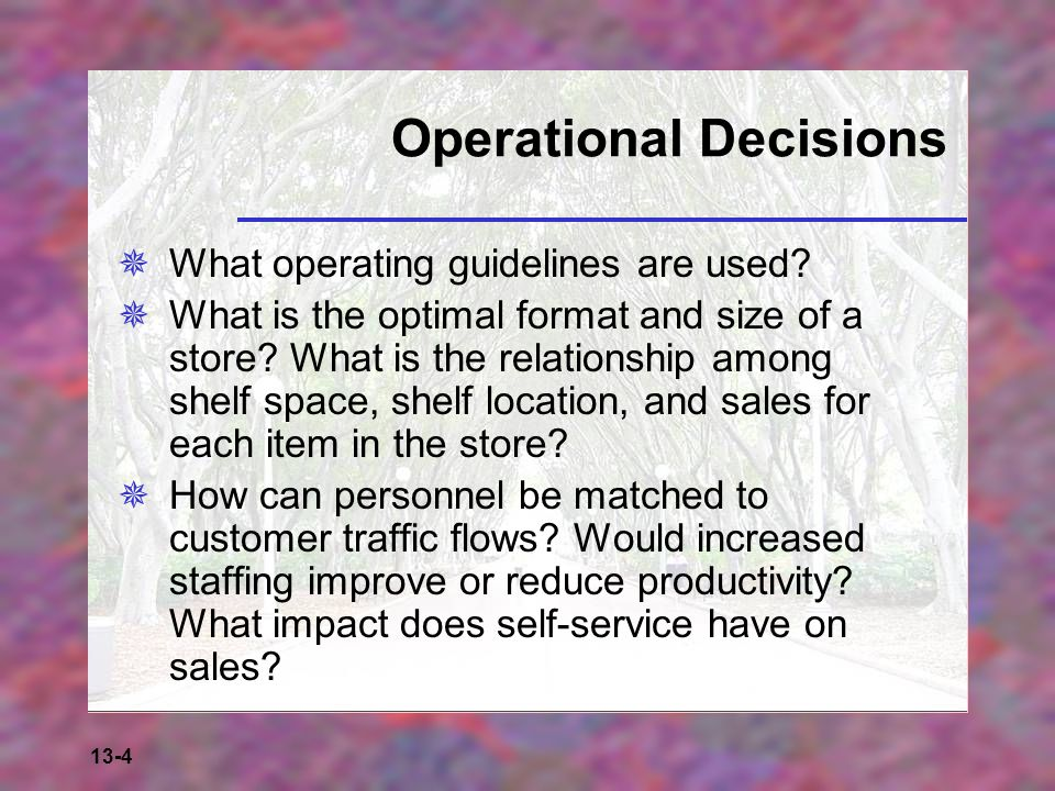 13-15 Credit Management Decisions  What form of payment is acceptable.