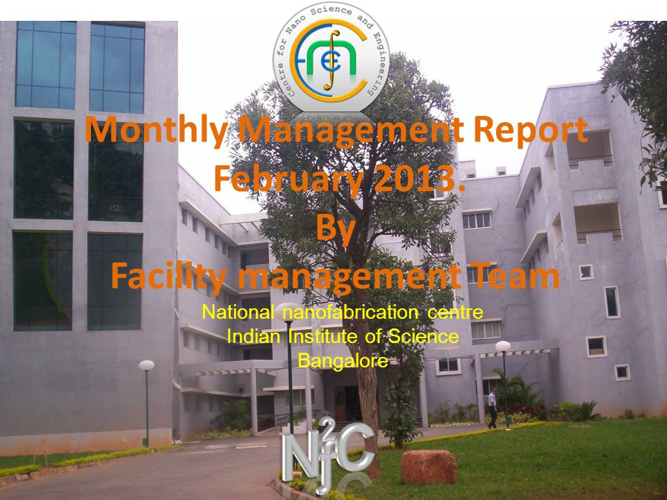 Monthly Management Report February 2013.