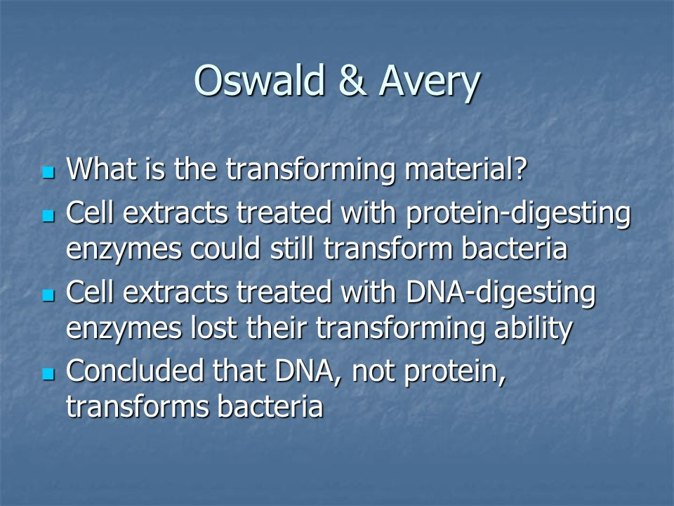 Oswald & Avery What is the transforming material. What is the transforming material.
