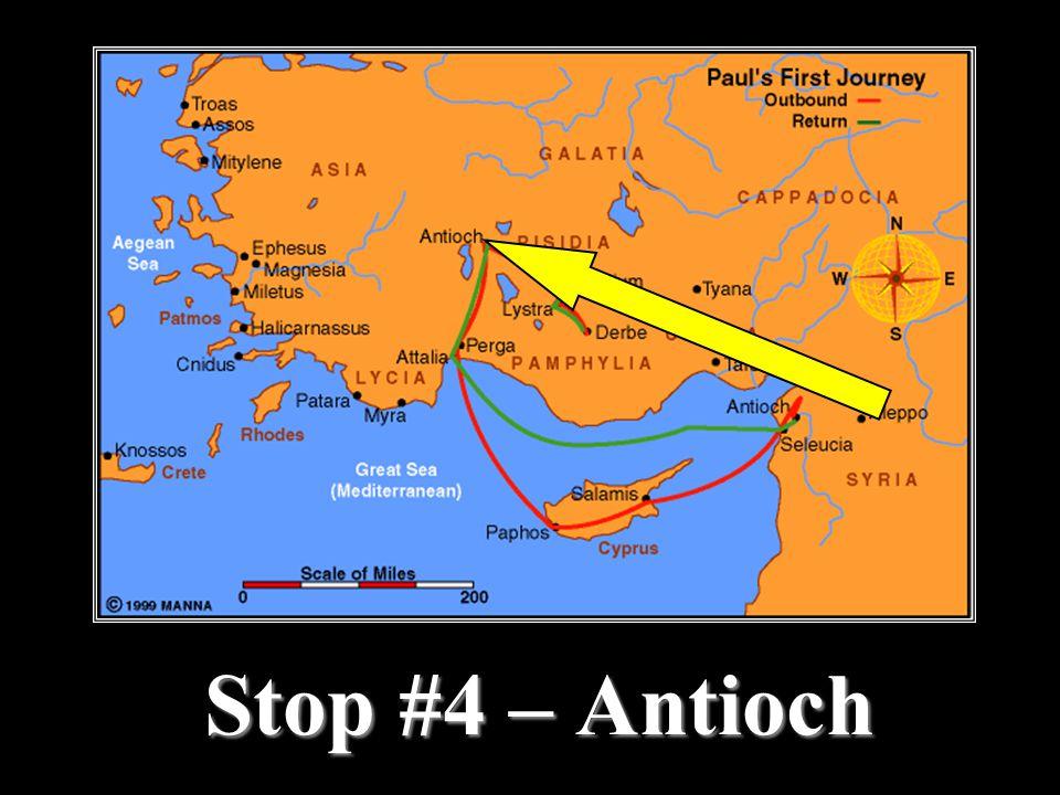 Stop #4 – Antioch
