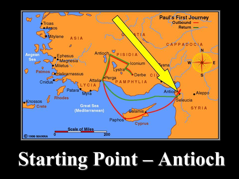 Starting Point – Antioch