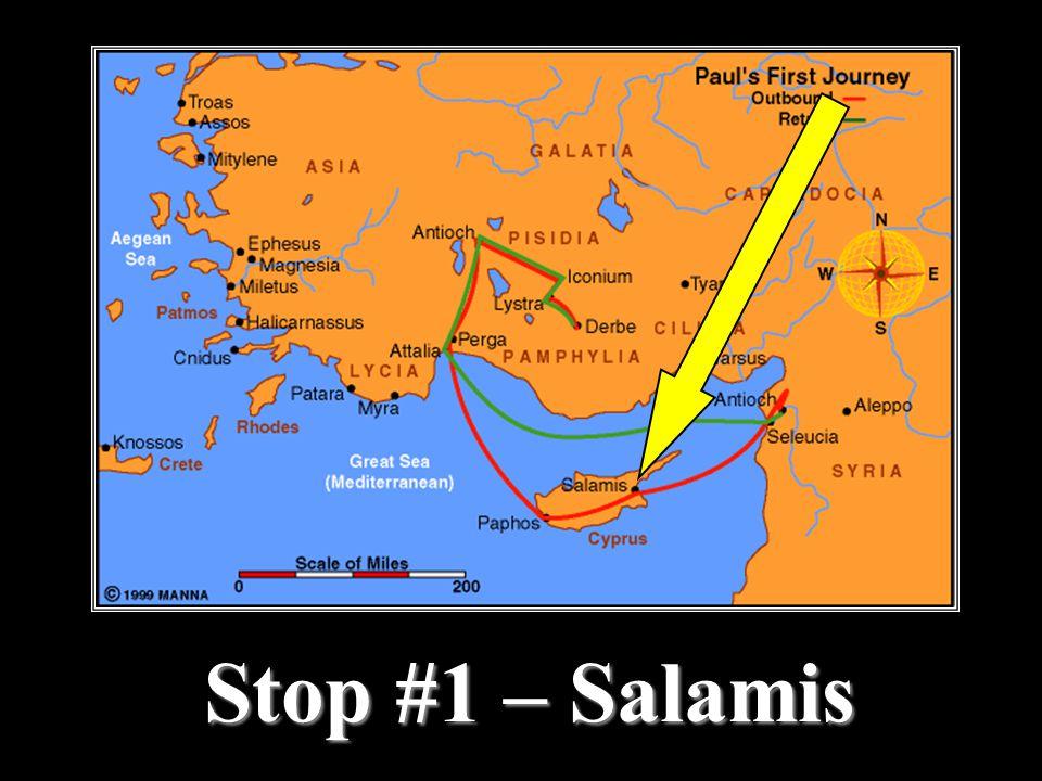 Stop #1 – Salamis