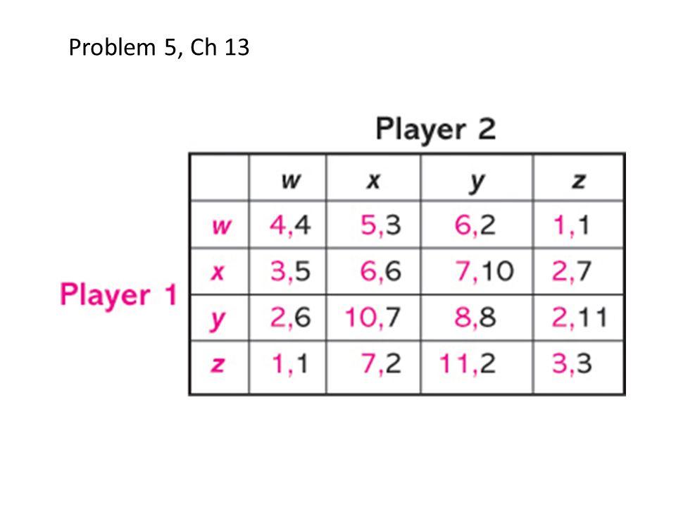 Problem 5, Ch 13