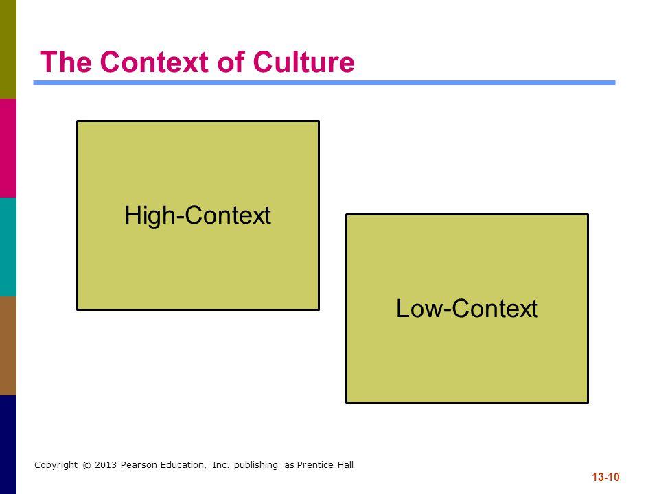 13-10 Copyright © 2013 Pearson Education, Inc.