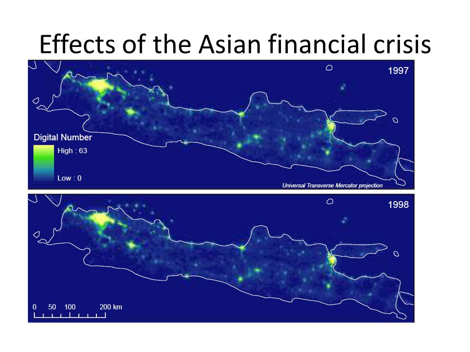 Effects of the Asian financial crisis