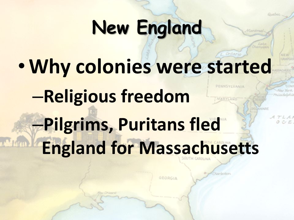 The New England Colonies Rhode Island Massachusetts New Hampshire Connecticut