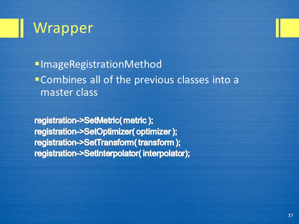 Wrapper 17