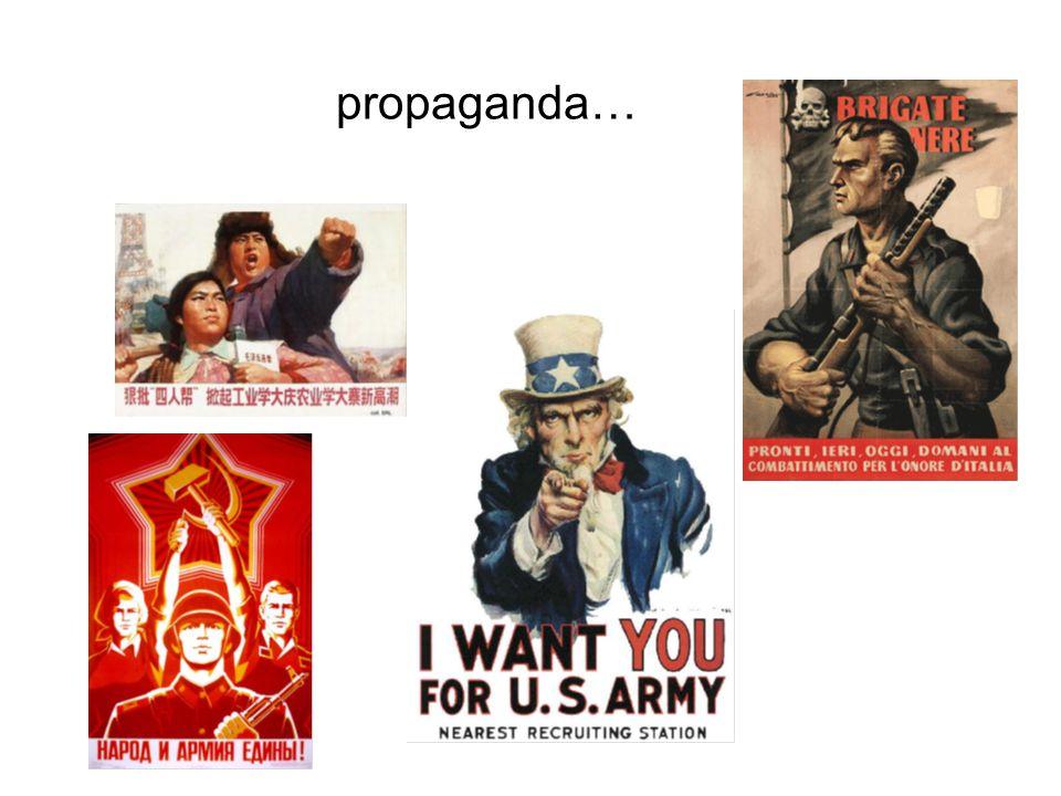 propaganda…