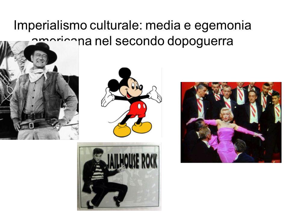 Imperialismo culturale: media e egemonia americana nel secondo dopoguerra