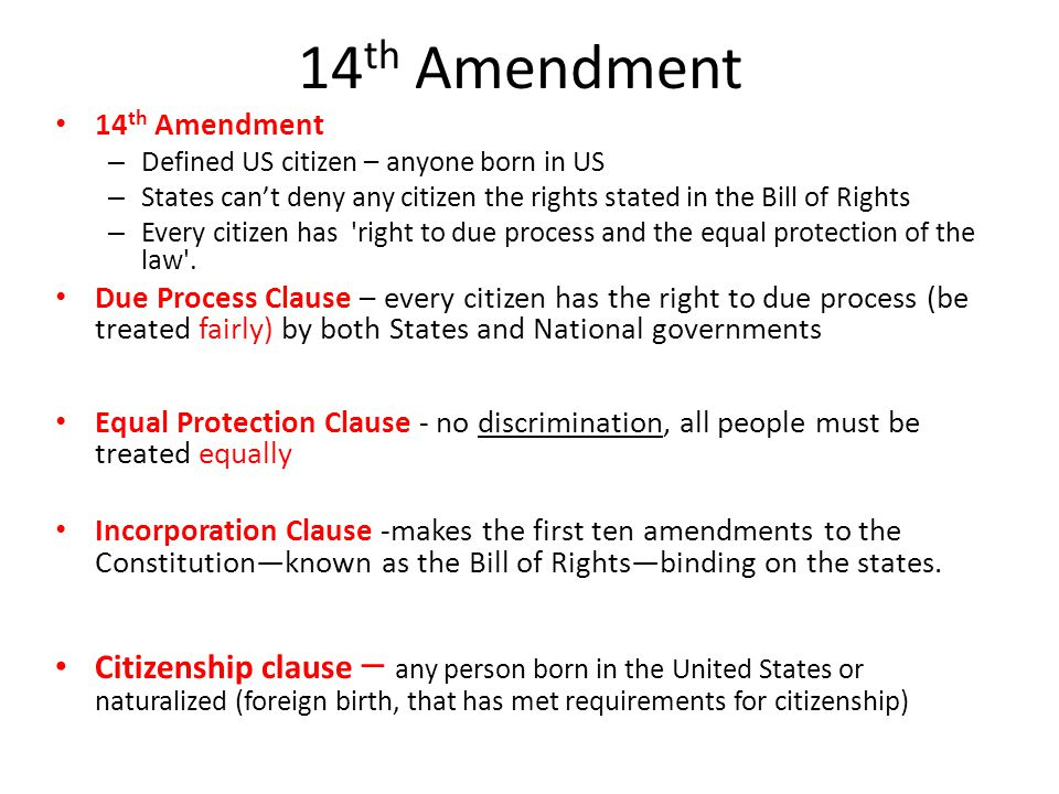 "has the second amendment undergone the incorporation process The second amendment: both federalists and antifederalists has undergone ""homogenizing of the fourteenth amendment and the incorporation of the."