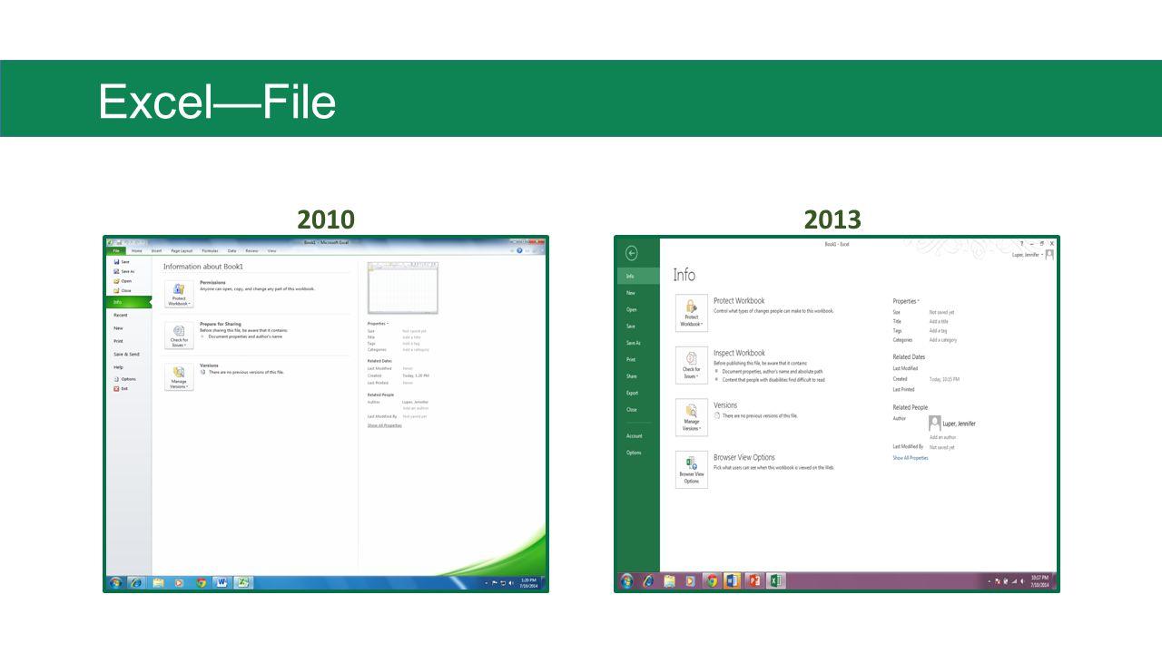 Excel—File 20102013